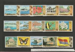 Kiribati. full set of stamps 1979 Definitives, Mint-MNH