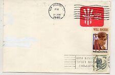 Estados Unidos Sobre entero postal del año 1980 (DC-508)