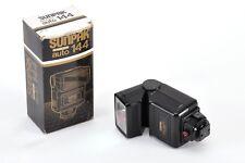Sunpak Auto 144  Flash a slitta