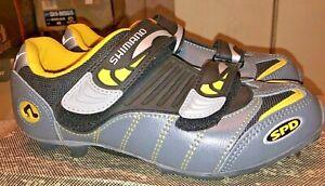 Shimano SH-M082W Gray Womens MTB Cycling Shoes -Size 37 / US 4.5 - SPD
