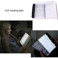 Faltbare 4LED Tisch Lampen Nacht Lichter Studie Lesen Bett Lampen H4I8