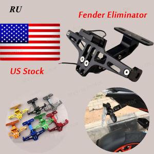Motor Fender Eliminator License Plate Holder For BMW S1000XR S1000RR HP4 2009-17