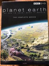 Planet Earth ~ 2006 BBC Natural Naturaleza World Documental 5 DISCOS GB DVD