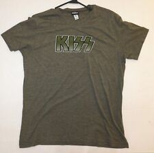 KISS Band Distressed Gray T-Shirt Winterland XL UNWORN 2005 Gene Ace Peter Paul