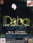 Publicité advertising 1997 Concert Etienne Daho Paris Olympia