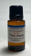 Pain-away Pure Essential Oil Blend 15ml ISO Certified GMP Accredited