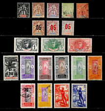 DAHOMEY, FRANCE: CLASSIC ERA STAMP COLLECTION