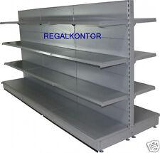 Verkaufsregale Ladenregale Mittelraumgondeln Länge 200cm Tegometall NEU