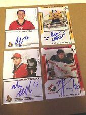Max McCormick SIGNED Custom Photo Card OTTAWA SENATORS