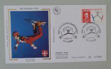 France FDC 1er jour 2709 3 août 1991 jeux olympiques d'hiver