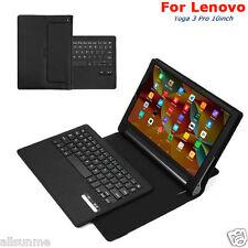 Para Lenovo Yoga 3 Pro 10inch Teclado Bluetooth Con Funda En Cuero Soporte
