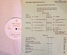 Radio Show: DICK CLARK GOLD #215 DIONNE WARWICK & JOHNNY RIVERS TRIBUTE 13 TUNES
