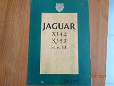 Catalogue Commercial Jaguar XJ6 4.2 XJ12 5.3 de 1979 + dépliant de synthèse