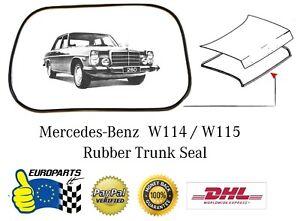 Mercedes-Benz Mercedes W114 W115 (1968-1976) Trunk Seal Rubber A1157580098
