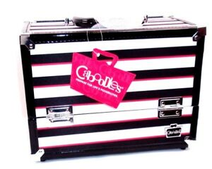 Caboodles Inspired Travel Train Case Makeup Cosmetics Storage Organizer Large