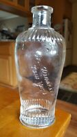 Scarce Antique Glass Winarick Bottle New York Hair Product or Perfume Embossed
