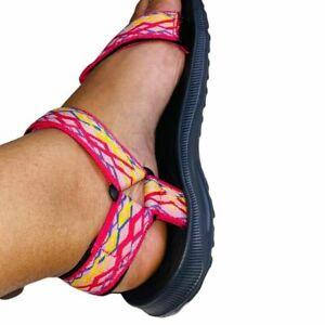 Walking Sandals Sport Outdoor Shoes Poolside Beach Pink-Fuchsia 6-11 Air Balance