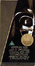 Star Wars Trilogy - Special Edition - Gold Box Set (VHS,1997, 3-Tape Set) MINT!!