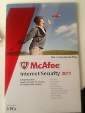 McAfee Internet Security 2011 3-USER