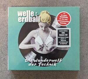 Welle Erdball - Die Wunderwelt Der Technik 2CD Limited Llimitiert Ltd Digipack