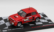 Coche Renault 5 Turbo  #3 - BRUNO SABY - Rally Lyon-Charbonnieres 1981  (1/43)