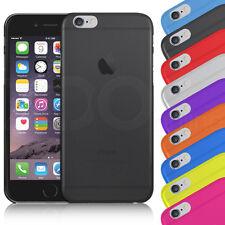 fina y dura Cristal Espalda Funda Cartera para iPhone Apple