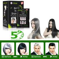 DEXE Hair care Shampoo Color Permanent Black Coloring Shampoo Coloring DIY 10PCS