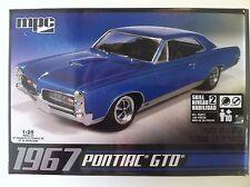 MPC 1967 Pontiac GTO 1/25 Scale Plastic Model Kit 710