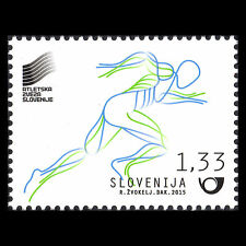 Slovenia 2015 - World Championships in Athletics Sports - MNH