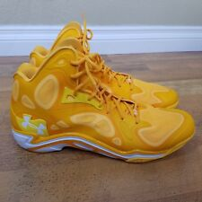 mens under armour tb micro g anatomix spawn Shoes Size 17 Yellow 1248426-750