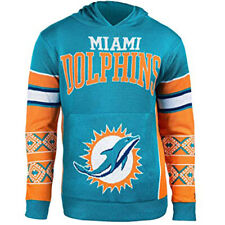 Forever Collectibles NFL Men's Miami Dolphins Big Logo Hooded Sweater