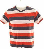 POLO RALPH LAUREN Boys T-Shirt Top 14-15 Years Large Multicoloured Cotton  HW09