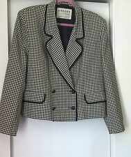 Jaeger Button Wool Checked Coats & Jackets for Women
