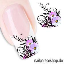 Nail Art Nageldesign Water Transfer Nagel Sticker Aufkleber Blumen STZ-022
