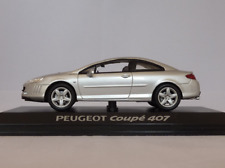 Peugeot 407 Coupe 1/43 Norev (silver)