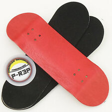 Peoples Republic - 30mm Wooden Fingerboard Deck - Red