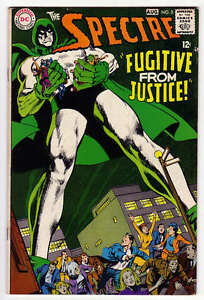 SPECTRE # 5 NEAL ADAMS DC 1968