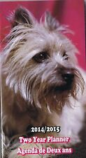 PUPPIES  2014-2015 - 2 YEAR POCKET CALENDAR PLANNER AGENDA APPOINTMENT BOOK COLL