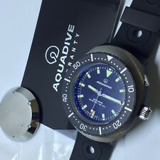 RARE AQUADIVE DIVER 46MM MOD 77 AUTOMATIC LIMITED 2013 REEDITION BOX & PAPERS