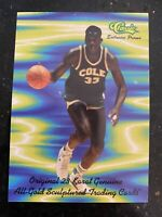 SHAQUILLE O'NEAL CLASSIC Cole High School Rookie Promo Card Magic Lakers NMMT