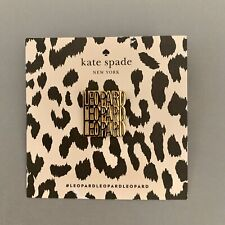 New Kate Spade New York Leopard Pin Limited Edition Collectible Free Shipping
