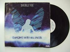 "Double You-Dancing With An Angel -Disco Mix 12"" 33 Giri Vinile ITALIA 1995 House"