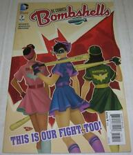 Dc Comics: Bombshells #8 (2016) The Batgirls (Vf-) Rare