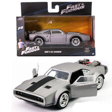 1:32 FAST AND FURIOUS 8 DOM'S ICE CHARGER DODGE GREY JADA DIECAST MODEL CAR TOY