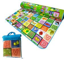 Extra Grande 2 lado educativo de Espuma Suave Bebé Niños del niño piso Play Mat gatear