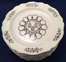 Complete Set of 13 Wedgwood Etruria1st Ed 1975 Colonial Williamsburg State Plate
