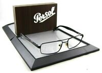 Persol 2355-S 594/58 55mm Rx Eye Glasses Black Metal Frames ONLY Sunglasses