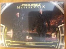 Star Wars 2019 Masterwork DM-22 Kylo Ren Defining Moments 05/25 Canvas