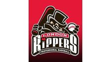 London Rippers Frontier League Baseball Mens Polo XS-6XL, LT-4XLT Jack The New