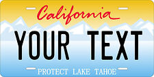 California Tahoe License Plates Personalized Auto Car Custom VEHICLE OR MOPED